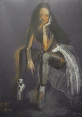 Truro School, Valeria Duca, Dancer 82x57