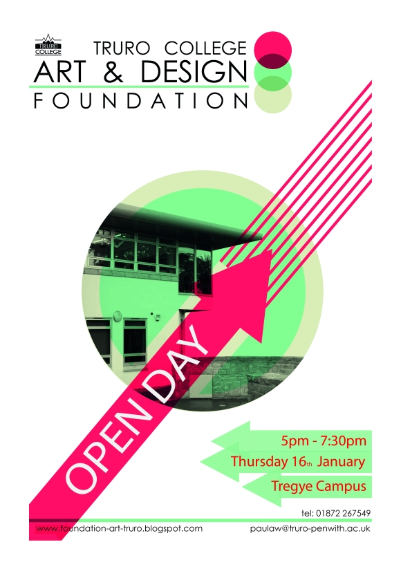 Foundation Open Day Jan 14