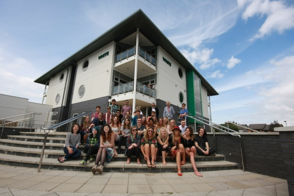 Truro college art & design dept 2nd years 2014
