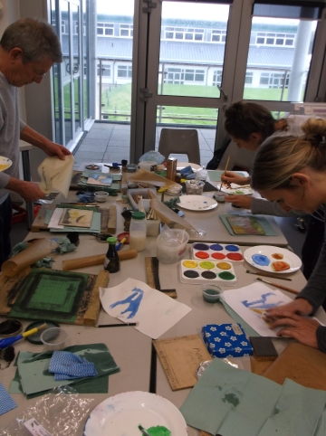 Moku Hanga day workshop6