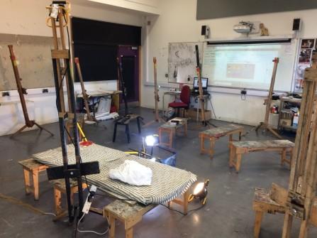 the life studio set-up
